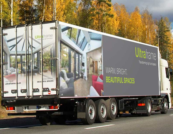 Deliveries from Ultraframe will be running again as soon as conditions are safe.