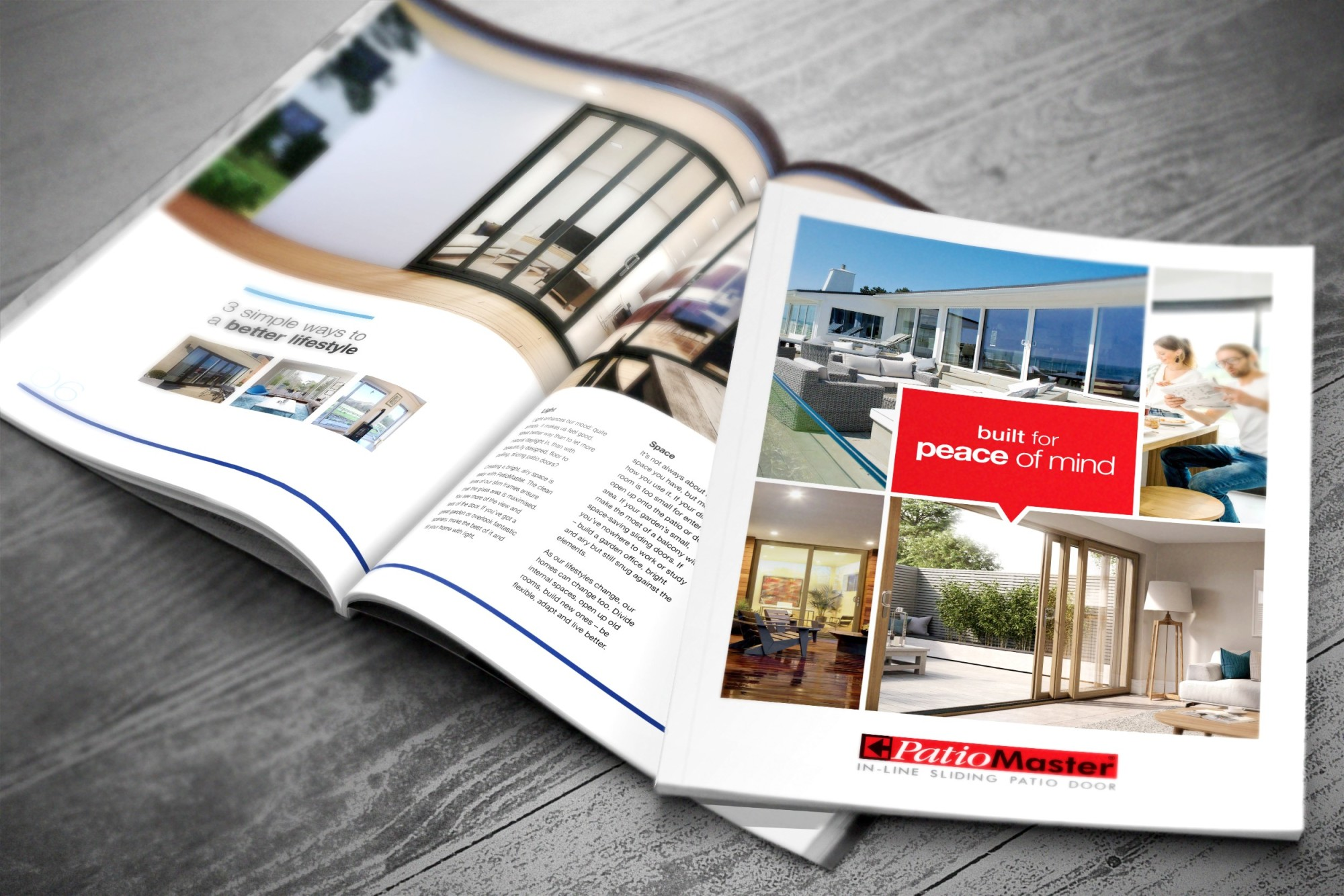 The new PatioMaster retail brochure